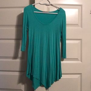 Tops - Green tunic